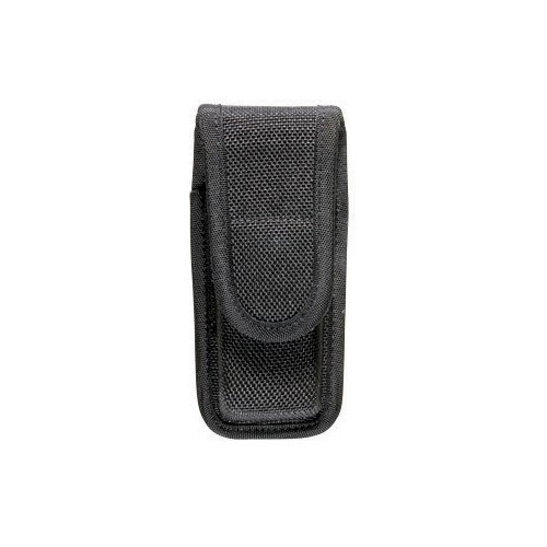 Accumold Single Magazine (Bianchi Accumold 7303 Black Single Magazine Pouch (Size 2 Staggered Hidden Snap))