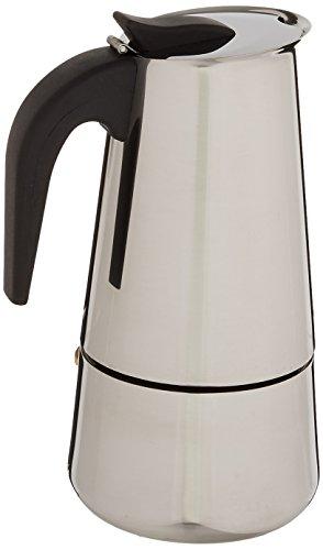 Uniware Cafetera para expreso, de acero inoxidable, 9 tazas