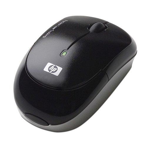 HP EY018AA#ABA Wireless Laser Mouse (Black)