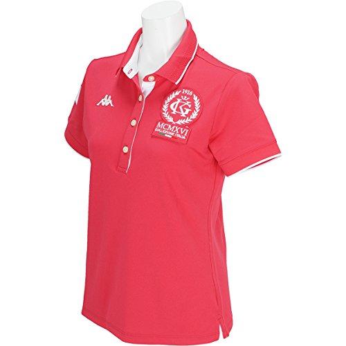 カッパ Kappa 半袖シャツ?ポロシャツ ITALIA ストレッチ ラインリブ半袖ポロシャツ レディス