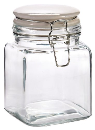 Kitchen Supply Cresta Hermetic Storage Jar, 28-Ounce ()