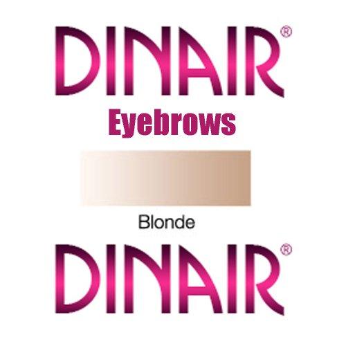 DINAIR Аэрограф макияж бровей и подводки для глаз - 1 бутылка БЛОНДИНКА .25oz.