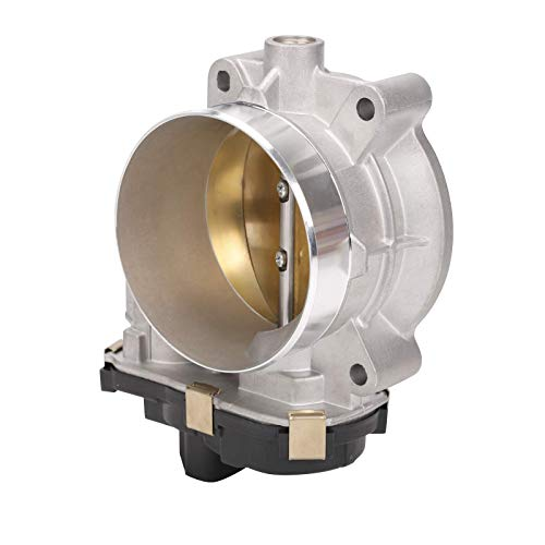 Superfastracing Complete Throttle Body for Chevy Silverado GMC Sierra Cadillac 4.8L 5.3L 6.0L V8 217-2422, 12580760, S20008, ETB0024