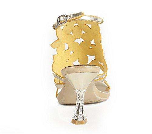 Diamant Bal Moyen Mariage Bretelles uk De De De Or Soirée 43 De De Femme La Mariage Eur Partie Fin Mariage Zpl À Talon Salle De Mesdames De Sandales Fin De qw6I7C41