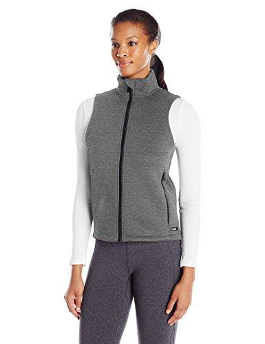 Calvin Klein Performance Women's Bonded Knit Vest, Heather Grey, Medium