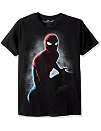 Marvel Mens Spider-Man Homecoming Silhouette T-Shirt