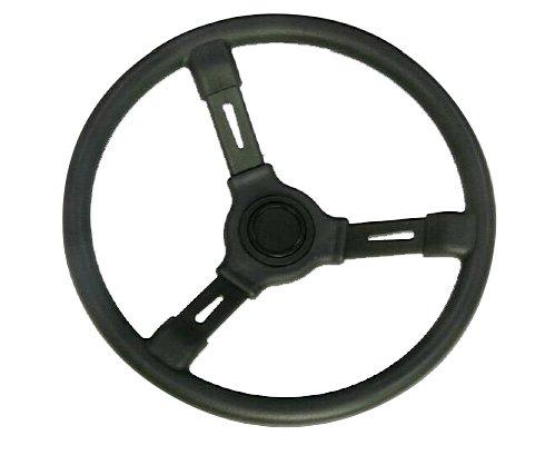 Woqi WH001 Regular 3 Spoke Marine Plastic Steering Wheel in 13 1/2'' Diameter by Woqi (Image #2)