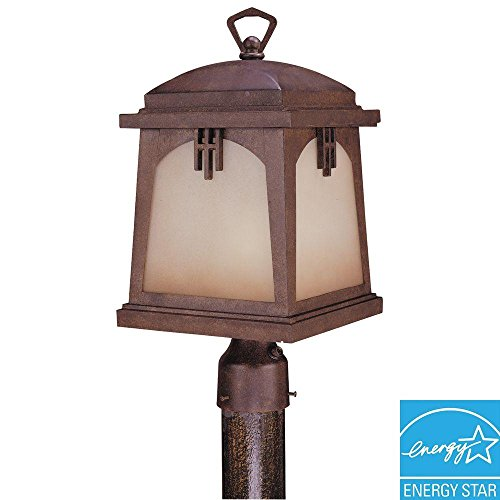 Hampton Bay Outdoor Regency Bronze Post Lantern (Bay Post Lantern)