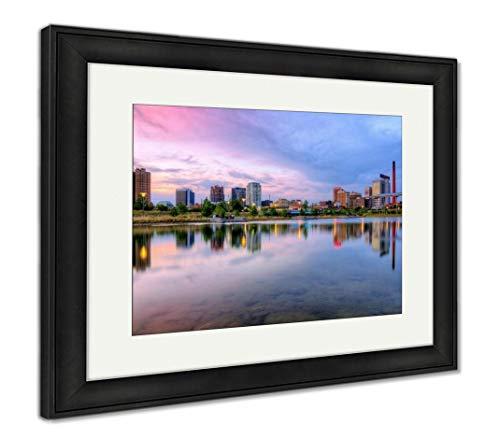 (Ashley Framed Prints Birmingham, Alabama, USA, Wall Art Home Decoration, Color, 26x30 (Frame Size), Black Frame, AG32675120)