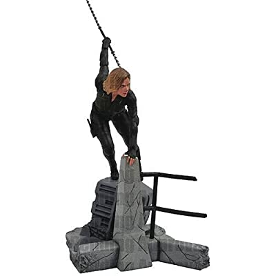 Diamond Select Toys Marvel Gallery: Avengers Infinity War Movie Black Widow Pvc Diorama Figure