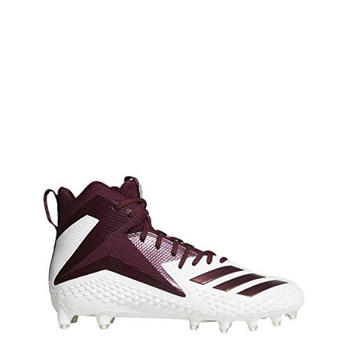 adidas Men's Freak X Carbon Mid Football Shoe Black, (10 M US)