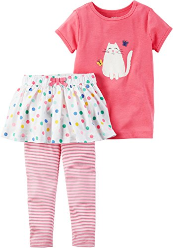 Carter's Baby Girls' 2-Piece Shirt And Legging Set 12 Months