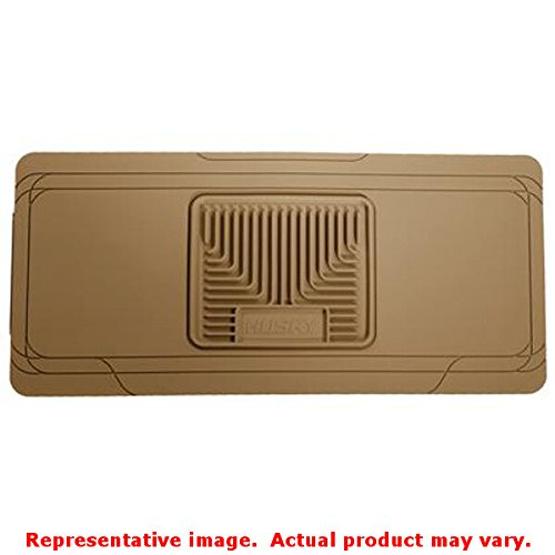 Husky Liners 53003 Heavy Duty Floor Mat Center Hump; Tan; Universal; For Use w/o Shifter Or Console;