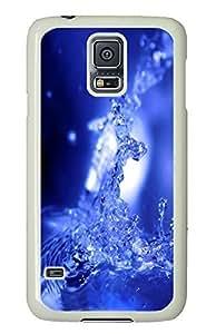 custom Samsung S5 cover Splash PC White Custom Samsung Galaxy S5 Case Cover