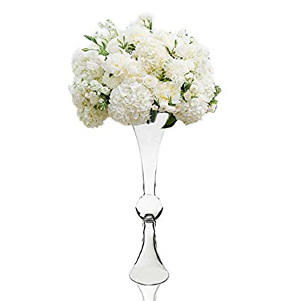 Amazon Cys Excel Clear Reversible Latour Trumpet Glass Vase