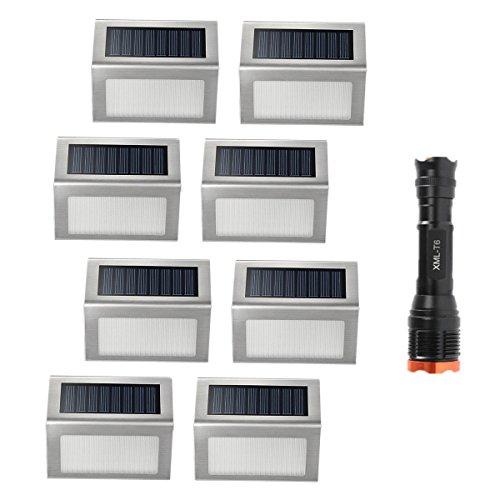 Luminous Solar Led Fence Post Lights - 4