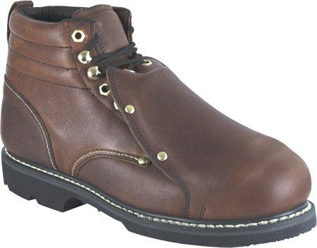 Golden Retriever Mens Brown Pitstop Leather Boots Work 6in Metguard 11.5D zmKzTBE