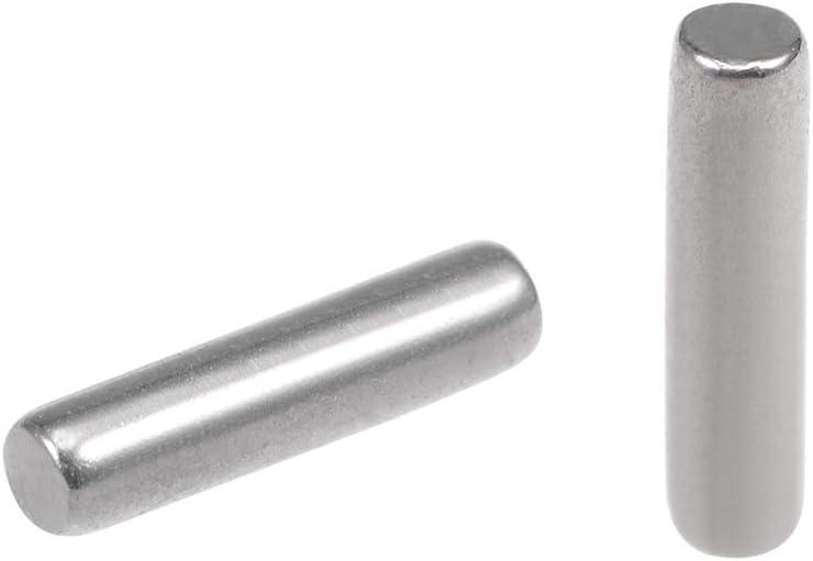 100Pcs 2mm x 8mm Dowel Pin 304 Stainless Steel Shelf Support Pin Fasten Elements