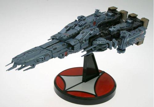 超時空要塞マクロス 愛おぼえていますか マクロス 要塞艦 (1/5000スケールABS&ダイキャスト塗装済み完成品) B000JWG41S