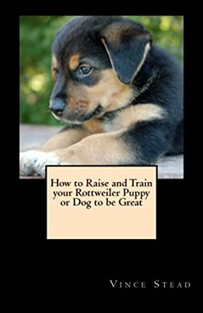 How to Raise and Train your Rottweiler Puppy or Dog to be