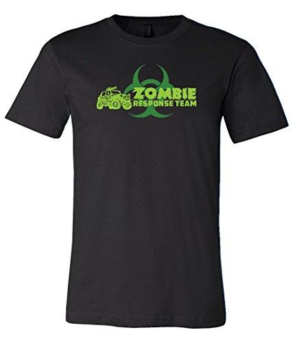 Jeep Wrangler Zombie Response Team T Shirt Large Black