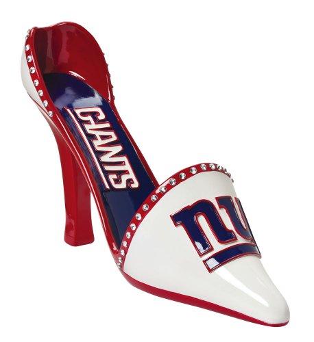 New York Giants Decorative Wine Bottle Holder - Shoe from Team Sports America