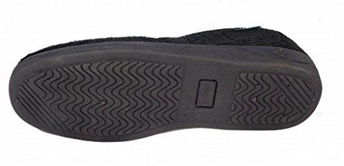 Dunlop , Herren Hausschuhe Schwarz