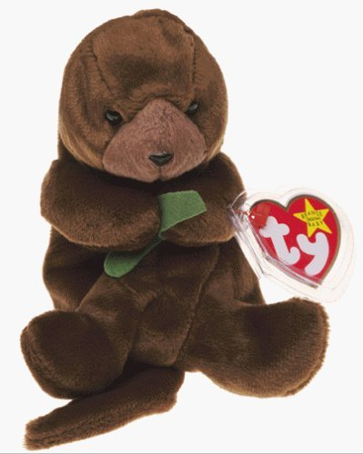Amazon.com  Beanie Babies Ty Seaweed The Otter  Toys   Games cea27a655a81