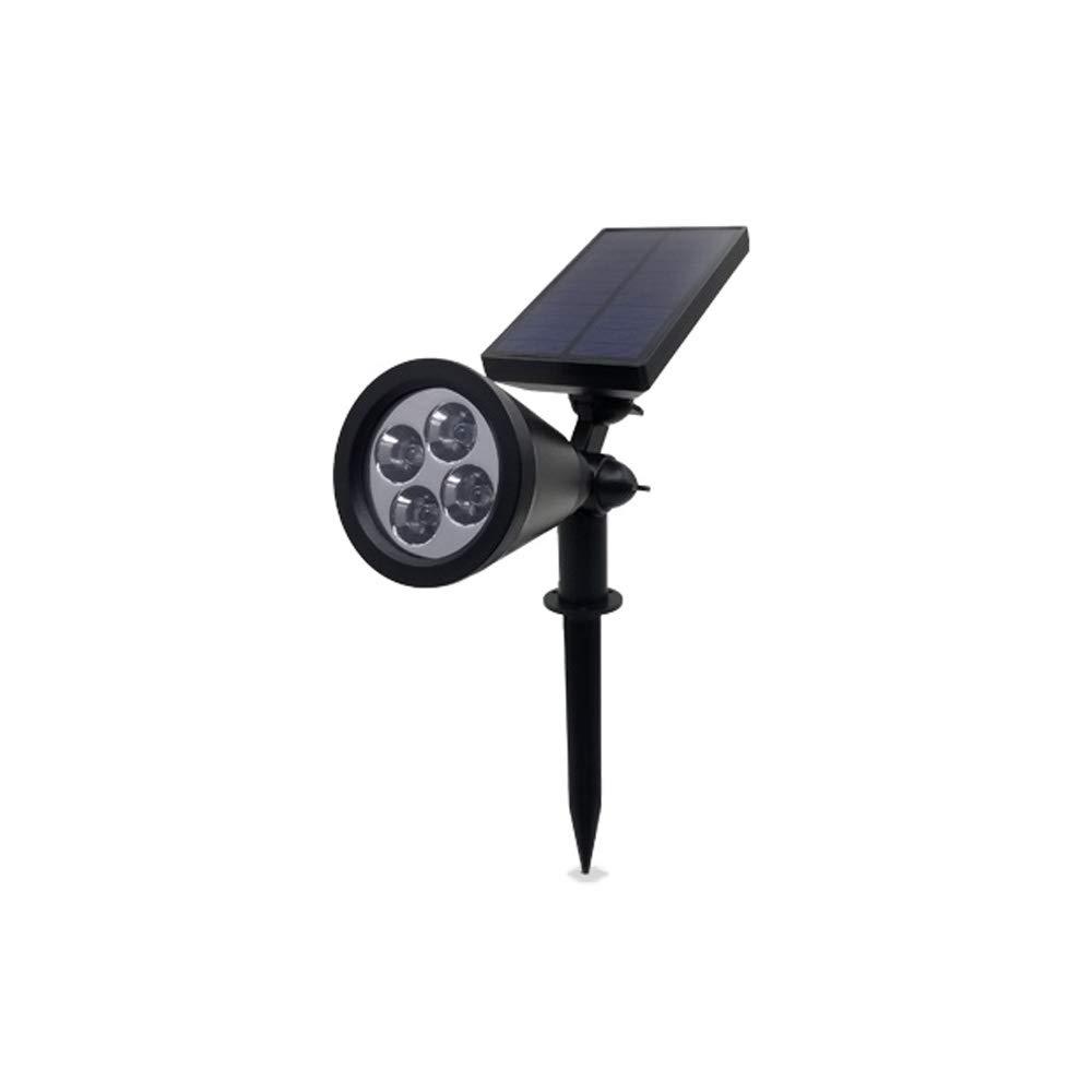 J.SUNUN Lampade Solari a LED da Esterno,Illuminazione Giardino Solare, Luci Solari da Esterno Angolo Regolabile,Impermeabile IP65,per Prato, Muro (Colore   Multi-Function)