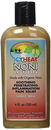 Icy Heat Noni Lotion by Hawaiian Health 4oz. by Hawaii Organic Noni