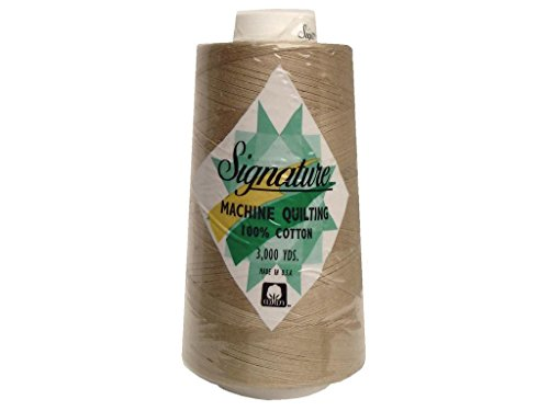 Signature Baguette - Signature Thread Signature Ctn 3000yd 100% Cotton Quilt Thread 3000 Baguette