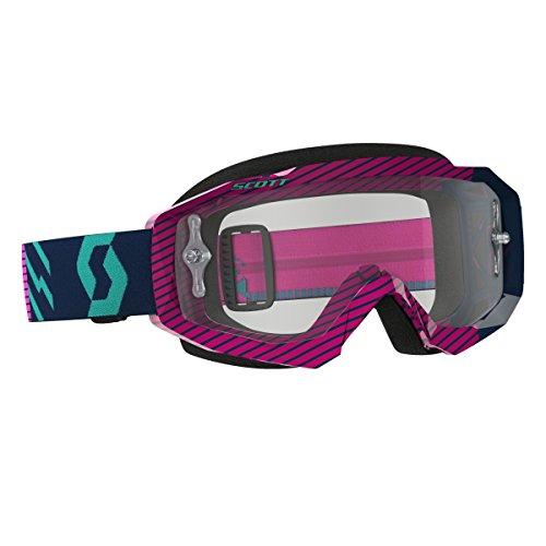 Scott OCS Masque Hustle MX LS Blue/Pink Purple Chrome Works