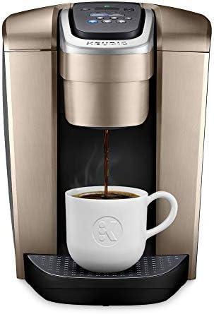 Keurig K Elite Single Coffee Brushed