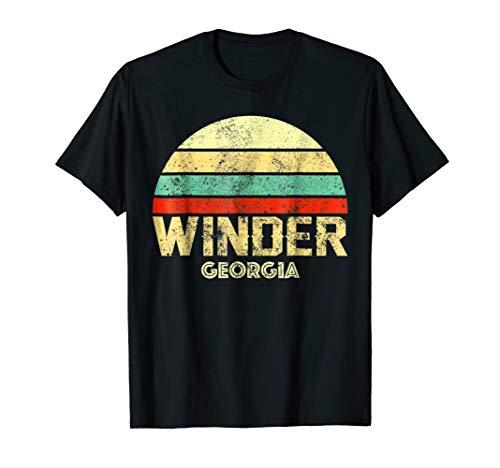(Winder Georgia GA Vintage Retro Sunset Tee T)