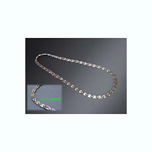 【Zeen】国産 99.9999%高純度N型 チタンゲルマネックレス B01LYCUGYG  【L】50cm