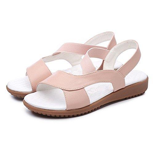 BAJIAN Zapatos Sandalias se Sandalias Peep Verano Toe heelsWomen Alto oras Bajos LI Zapatos Chanclas p70zrp