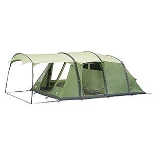Vango Odyssey Inflatable Family Tunnel Tent, Epsom Green, Airbeam 600SC [Amazon Exclusive]