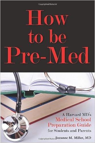 Pre-med/Medical school?