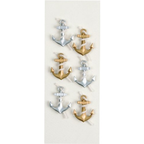 Little B 100329 Dimensional Stickers, Mini, - Stickers Anchor