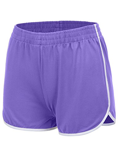 REGNA X NO BOTHER women's stretch performance low rise athletic dolphin shorts,17402_light ()