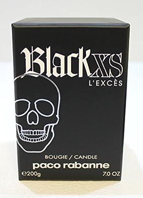 Paco Rabanne Black XS LEXCESS - Vela (200 g), aroma a fragancia Paco Rabanne Black XS: Amazon.es: Belleza