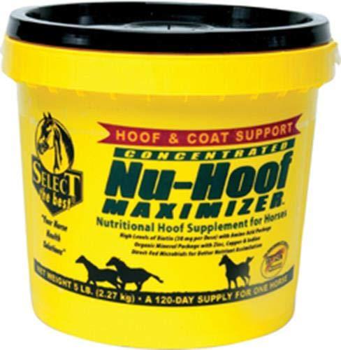 RICHDEL 784299390508 Nu-Hoof Maximizer Hoof & Coat Support for Horses, 5 lb by RICHDEL