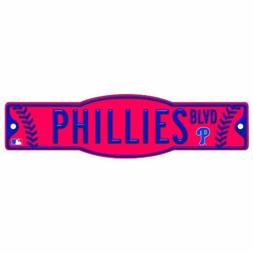 - MLB Philadelphia Phillies 4.5-by-17 Sign