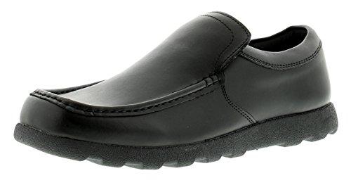 de 12 Tallas Hombre Negro Cordones Elástico Lado GB con Sin Diario Hombre Rockstorm 6 Zapatos escudetes XRnwCxZnSq