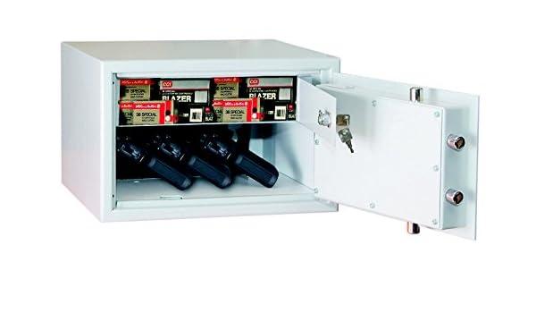 ISS Armas cortas de caja fuerte Kassel calden 59100 VDMA 24992 – Cerradura electrónica: Amazon.es: Bricolaje y herramientas