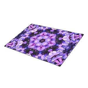 Eryoubs Decorative Door Mats Crystal Essence Mandala Unique Doormats