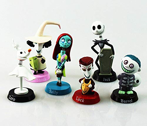 Halloween Doll Ornaments, Toy of Jack's Skeleton