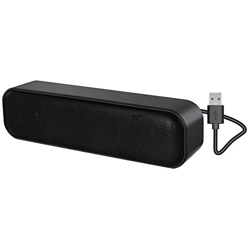 Computer Speaker,USB Powered Speaker for Desktop,Windows PCs,Laptop. Portable Mini Sound bar-Plug and Play