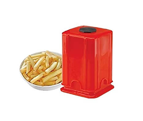86cee8ed317 Buy Moforce BEEzy Potato Vegetable Finger Chips Cutter - Potato Chipser -  Dicer Chopper with Container - French Fries Maker Online at Low Prices in  India ...