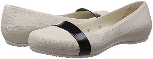 Flat Crocs Crocs Black Brynn Black Brynn Stucco Flat zz8qFp